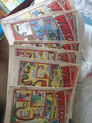 Whizzer and Chips Comics from 1980