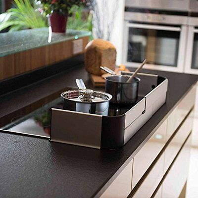 Fred Stove & Hob Guard (Aluminium / Black)