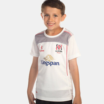 Kid's Ulster Rugby Performance Athletic Fit Tee - White (2017-2018) S44677