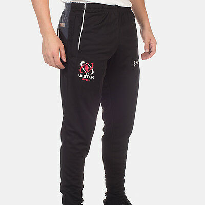 Men's Ulster Rugby Tapered Track Pant - Black (2017-2018) S44642