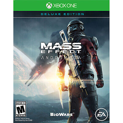 Mass Effect: Andromeda - Deluxe Edition Xbox One [Brand New]