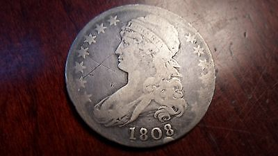 1808 capped bust half dollar