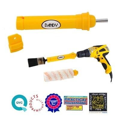 Dandy Pro PAINT BRUSH CLEANER and PAINT ROLLER CLEANER - clean in under 60 secs.
