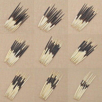 10 Pcs Porcupine Quills DIY Quill Work Fishing Bobber Craft Handwork Supplies