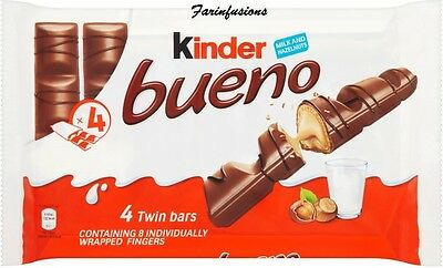 4x43g Kinder Bueno Milk & Hazelnut
