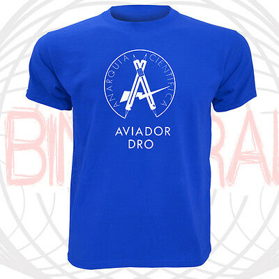 Camiseta Aviador Dro Movida Madrileña Años 80 Pop