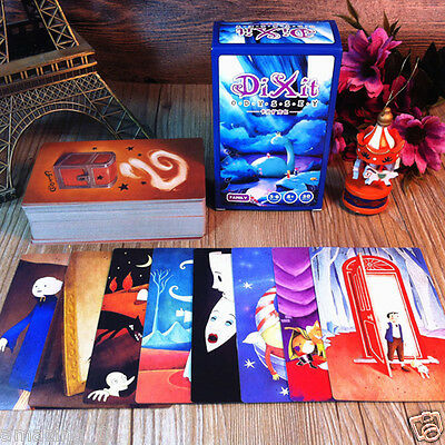 """New Game Cards Educational Family New Board 110 Pcs Kids """"DIXIT"""" Expansion"""