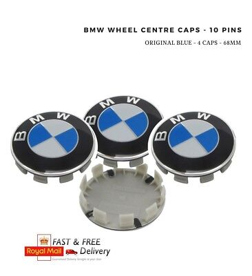 BMW 68mm Wheel Centre Caps x4 For: MOST BMW