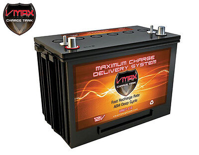 XTR27-110 VMAX 12 Volts 110AH Deep Cycle, XTREME AGM Battery for PV SOLAR PANEL