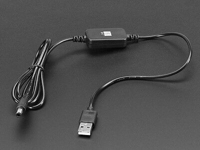 USB to 2.1mm DC Booster Cable - 12V