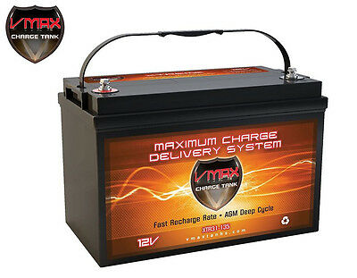 XTR31-135 VMAX 12Volts 135AH Deep Cycle, XTREME AGM Battery for SOLAR PANEL