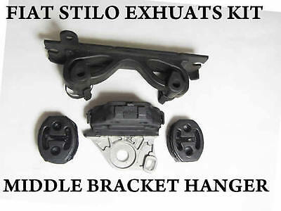 Fiat Stilo Exhaust Fitting Repair Kit Rubber Hanger Middle Back Mount Support