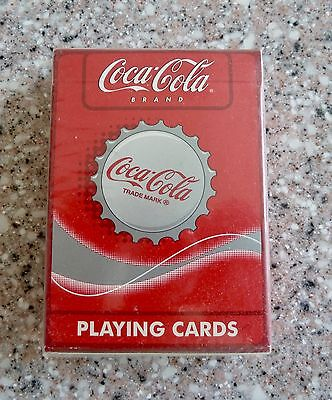New Sealed, Coca Cola Playing Cards, Bottle Cap