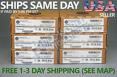 2016 *new Factory Sealed* Allen Bradley 1769-Ow8 1769-0W8 Series B Relay Output