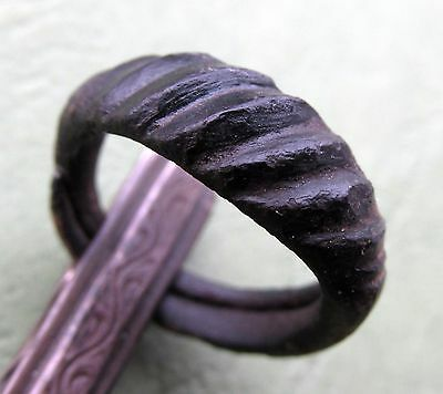 Ancient Viking Bronze Ring