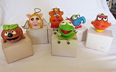 Set of 6 The Muppet Show Jim Henson Vintage 1979 Christmas