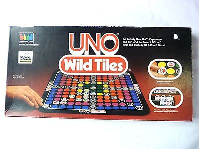 Vintage 1983 Board Game - UNO Wild Tiles - 100% Complete