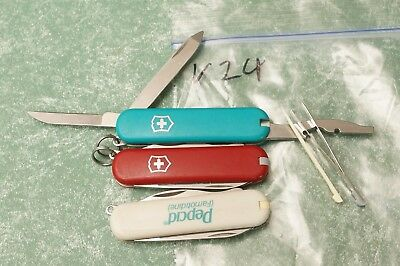 3-Victorinox Swiss Army knife Rover knives 3 colors 58mm Knife with Combo Tool