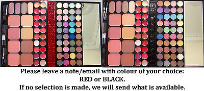 Eyeshadow Strong Pigments 64+8 Colors (Free Brushes Set