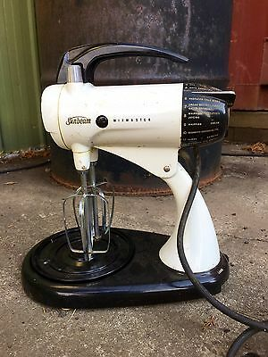 Rustic Old Retro Collectable Antique Sunbeam Mixmaster from a farm shed.