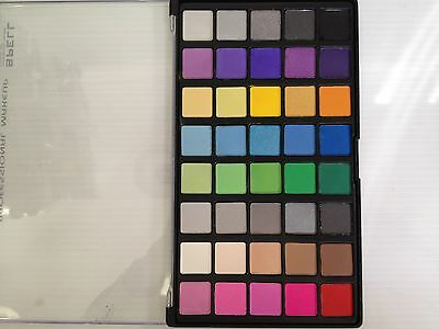 New 40 Colour Eyeshadow Palette Vibrant Strong Pigments
