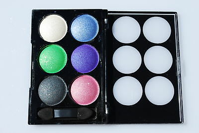 Eyeshadow Shimmer Finest Pigment 6 Colours Compact Pallete