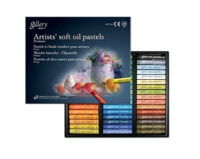 Mungyo Gallery Soft Oil Pastels Set of 48 - Assorted Colors (Professional)