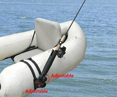 Brocraft Float Tube OR Pontoon Boat Rocket Launcher Rod Holder