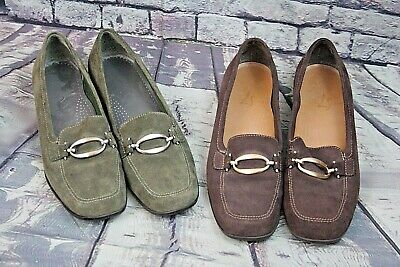 Womens Size 9 Loafers: Life Stride Comfortable Light Weight 2 Pairs