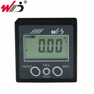 Digital Protractor Inclinometer Magnetic Angle Cube Bevel Box Angle Level Gauge