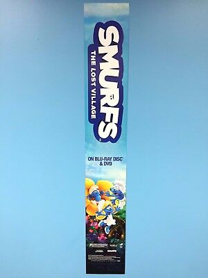 Smurfs The Lost Village - Poster Sign - Limited Edition - The Smurfs by Peyo USA
