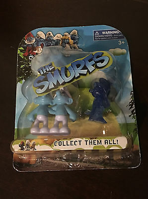 The Smurfs Zodiac Smurf Gemini Collectible Figure Toy