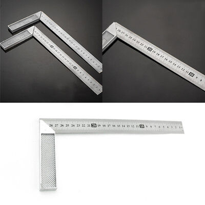 Stainless Steel Engineers Square Measurement Tool Right Angle 90 Degree Woodwork