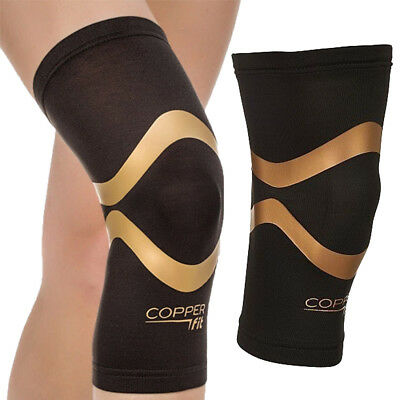 2 PCS Copper Fit As Seen On TV Pro Series Performance Compression Knee Sleeve L