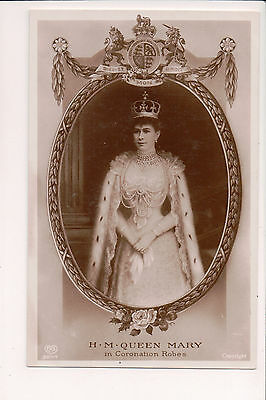 Vintage Postcard Princess Mary of Teck Queen of Great Britain