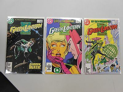 The Green Lantern Corps Comic lot of 3! #'s 212-214! VF8.0 to NM range! DC!