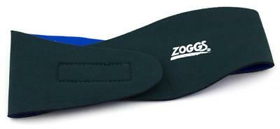 Adult Ear Band For Swimming - Reversible Blue & Black From ZOGGS