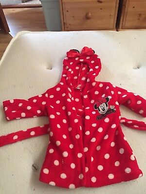 Minnie Mouse 0-3 Months Dressing Gown