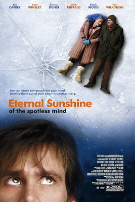 "006 Eternal Sunshine of the Spotless Mind - Jim Carrey USA Movie 24""x36"" Poster"