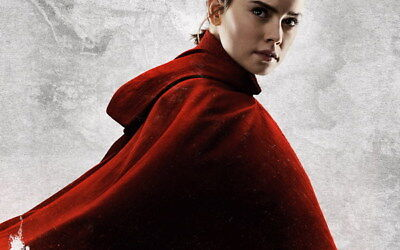 "033 Star Wars The Last Jedi - Daisy Ridley Action USA 2017 Movie 38""x24"" Poster"
