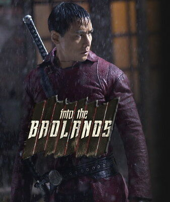 """007 INTO THE BADLANDS - Daniel Wu Action Adventure USA TV 24""""x28"""" Poster"""