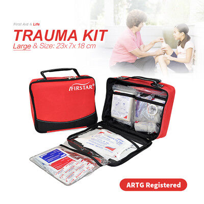 Large First Aid Kit Office Sport Sport Camping Family Survival ARTG Registered
