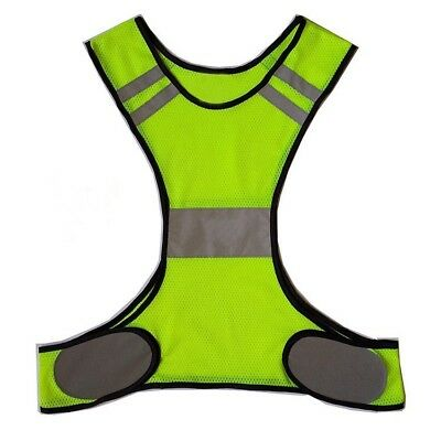 Night Work Running Reflective Vest Jogging Bike Cycling Safety High Visibility