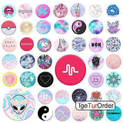 PopSockets Grip PopSocket Phones Tablet Case Stand Car Holder Style For iPhone