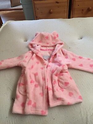 Baby Girls 6-12 Months Dressing Gown