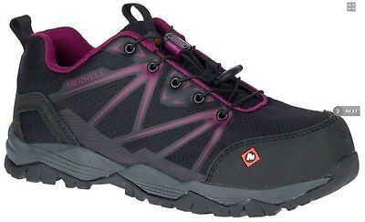 Merrell Women's J15822 Fullbench Composite Toe Safety Work Shoes
