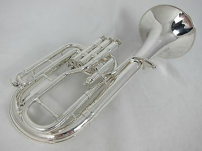 York Preference Tenor Horn 3049-2 - Silver Plate (used instrument)