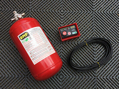 OMP Plumbed in Fire Extinguisher