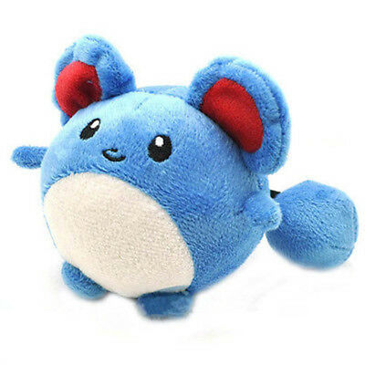 "New  Marill Pokemon Cute Soft Plush Doll Stuffed Anime Toy Kids Gift 4""11CM"