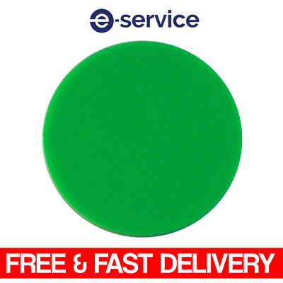 Plain Plastic Tokens - 38mm Green - Great for events or voting boxes, 10, 50+